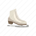 activity, cartoon, figure, shoe, skating, sport, winter icon
