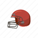 ball, baseball, cartoon, equipment, helmet, mask, sport icon