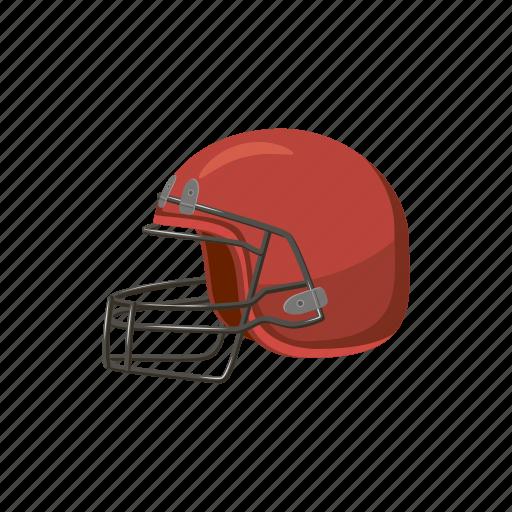 ball, baseball, cartoon, equipment, helmet, mask, sport icon