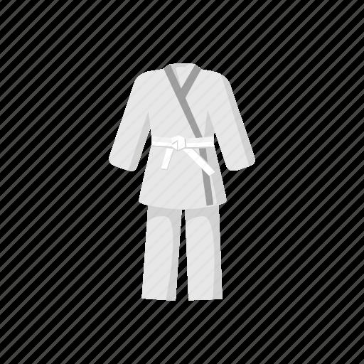 Belt, cartoon, karate, kimono, martial, sport, uniform icon - Download on Iconfinder