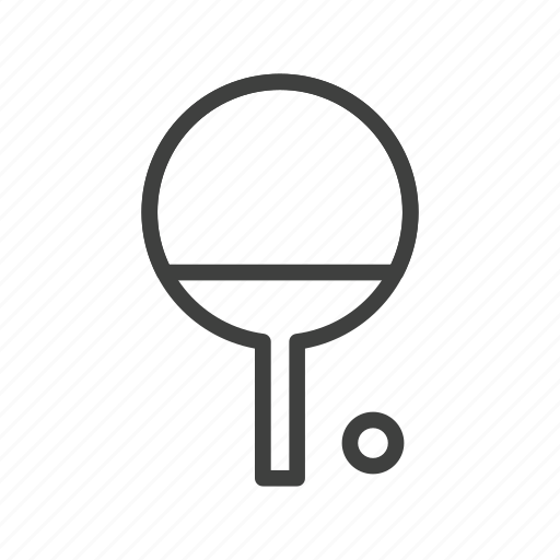 ball, bat, ping pong, sport, table, tennis icon