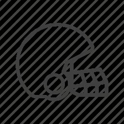 american football, football, helmet, rugby, sport icon