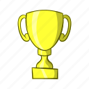 cartoon, object, reward, sign, success, trophy, winner icon