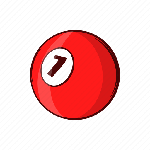 Ball, billiard, cartoon, object, pool, sign, sport icon - Download on Iconfinder