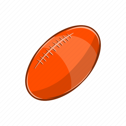 Ball, cartoon, game, object, rugby, sign, sport icon - Download on Iconfinder