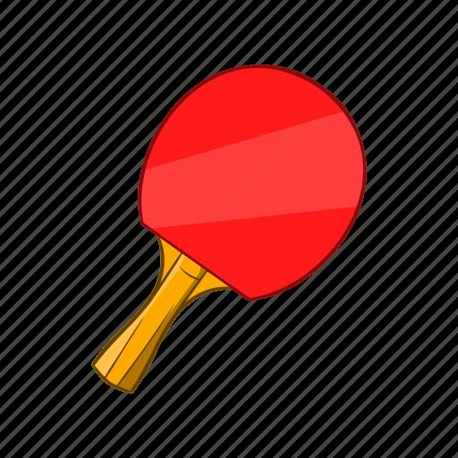 cartoon, object, racket, sign, sport, table, tennis icon
