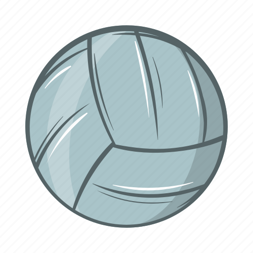 cartoon, game, object, sign, sport, volleyball, volleyball icon icon