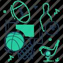 ball, basketball, equipment, games