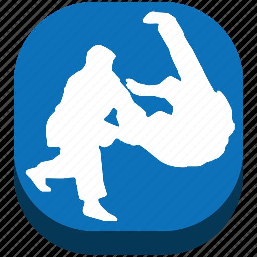 battle, bottle, combat, fight, judo, karate, sport icon