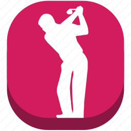 football, game, golf, play, player, shape, sport icon