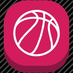 ball, basketball, football, game, play, sport, sports icon