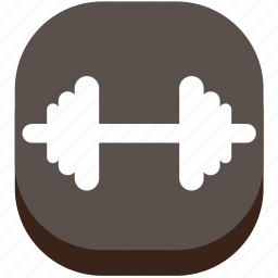 barbell, dumbbell, fitness, game, play, sport, weight lifting icon