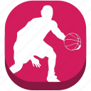 ball, basketball, football, game, outdoor game, play, sport icon