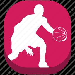 ball, basketball, football, game, outdoor game, play, sport icon