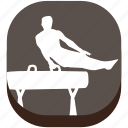 astics, exercise, game, gymnastics, play, sport, training icon