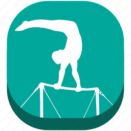 astics, exercise, fitness, game, gymnastics, play, sport icon
