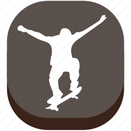 activity, football, game, lifestyles, play, skateboard, sport icon