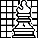 checkerboard, chess, final, game, play, sport, strategies icon