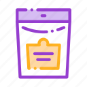 bio, package, supplements icon