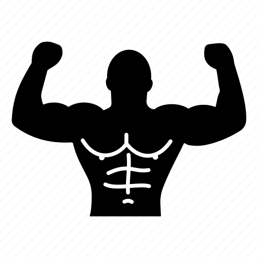 arm, bodybuilder, fitness, gym addict, man, muscle, strength icon