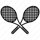 badminton, ball, sport, tennis, tennis racket icon