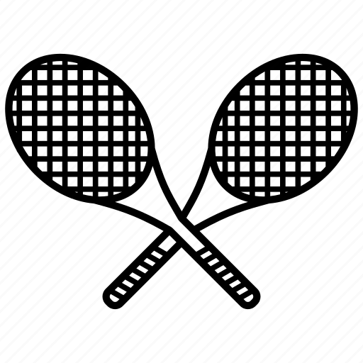 badminton, ball, sport, tennis, tennis racket icon