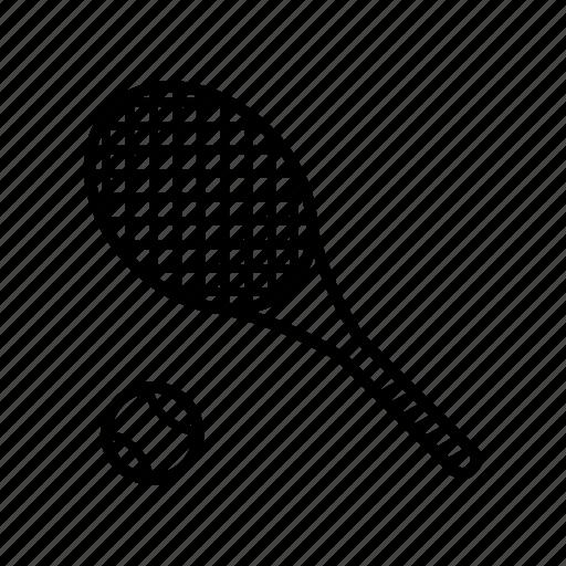 gym, racket, sport, table tennis, tennis, tennis ball, tennis racket icon