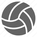 ball, sport, volleyball, game