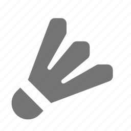 badminton, bird, birdie, shuttlecock icon