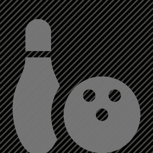 ball, bowling, bowling ball, pin icon
