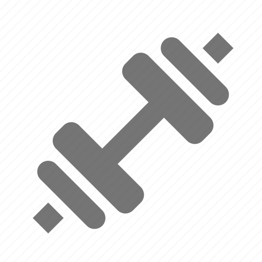 dumbbell, weight icon