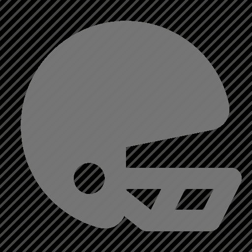 football helmet, helmet icon