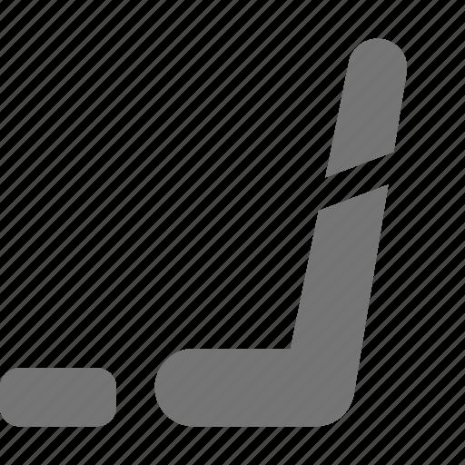hockey, hockey stick, puck icon