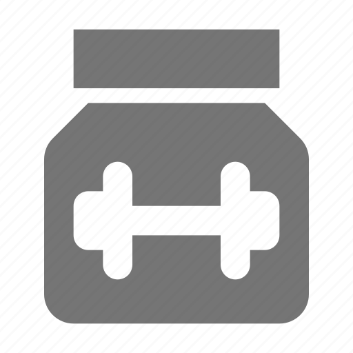 bottle, jar, protein shake, shake icon