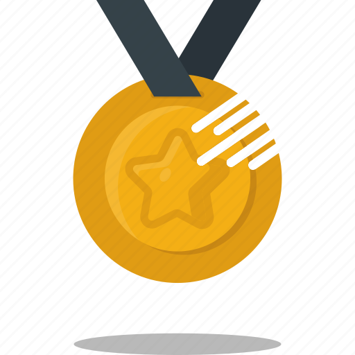 competition, gold, medal, prize, sport, winner icon