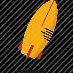 fun, sport, surfboard, water icon