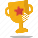 achievement, first place, sport, trophy, winner icon