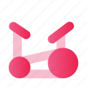 fitness, gym, mobile, sport, user interface, website icon