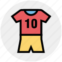 clothing, jersey, kit, shirt, sportswear, uniform, vest icon