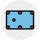 game, gamepad, puzzle, snooker, snooker table, sports, table icon