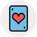 casino card, play card, poker, poker card, poker element, poker heart, poker symbol icon