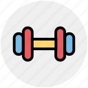 barbell, bodybuilding, dumbbell, fitness, gym, sports, strength strong icon