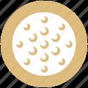 ball, circle, game, golf, golf ball, leisure, sports icon