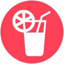 cold drink, drink, energy, glass, healthy, lemon juice, water icon