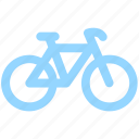 bicycle, bike, cycle, cycling, cyclist, exercise, fitness, sport icon