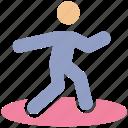 athlete, javelin, javelin throw, olympic, olympic games, stick man, throwing javelin icon