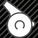 racing, start, whistled icon