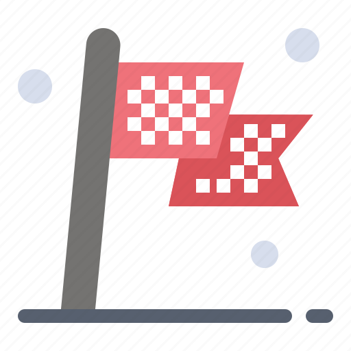 Check, checkered, destination, flag, race icon - Download on Iconfinder