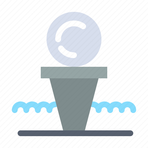 Ball, court, golf, hit, stand icon - Download on Iconfinder