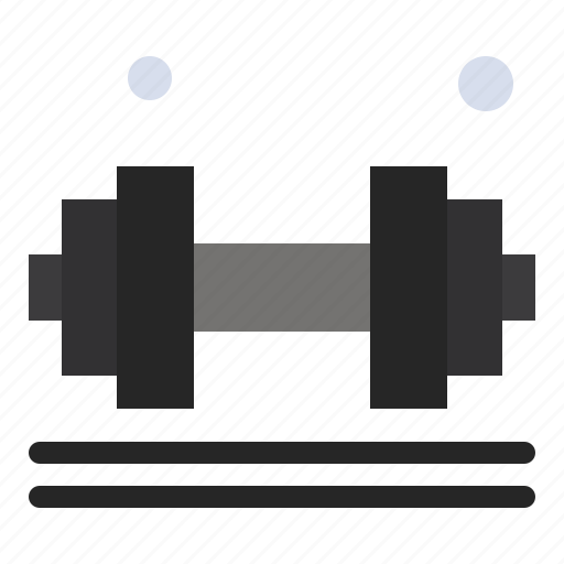 dumbell, exercise, fitness, gym, lifter, weight icon